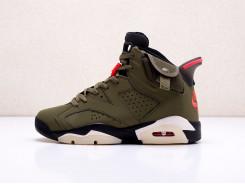 Кроссовки Nike x Travis Scott Air Jordan 6