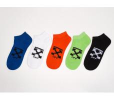 Носки короткие OFF-WHITE - 5 пар