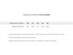 Кроссовки Ecco Biom